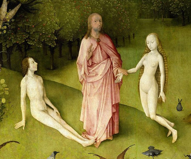 Bosch.adam.and.eve.Der_Garten_der_Lüste_-_Christus,_Adam_und_Eva