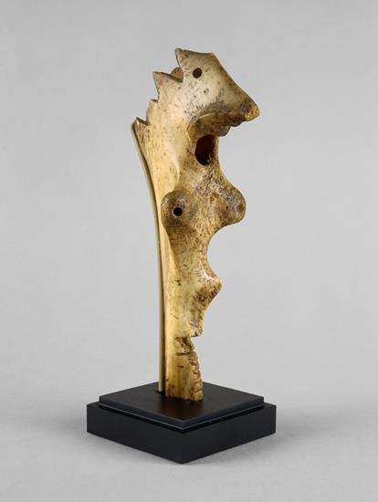 Carved Bone Sculpture by Jackson Pollock (possibly left over from a steak dinner)