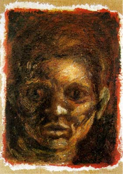 Self-Portrait, Oil on Canvas