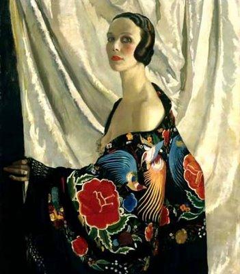 Doris Zinkeisen Self Portrait