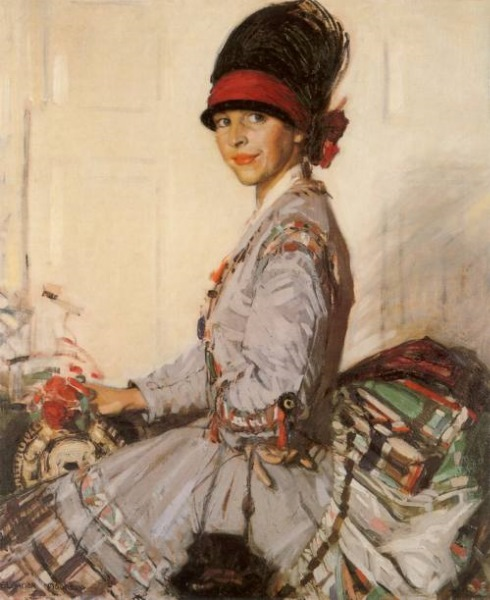 The Silk Dress by Eleanor Allen More