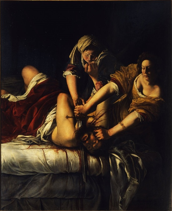 Judith Slaying Holofernes by Artemisia Gentilieschi, c.1614-1620