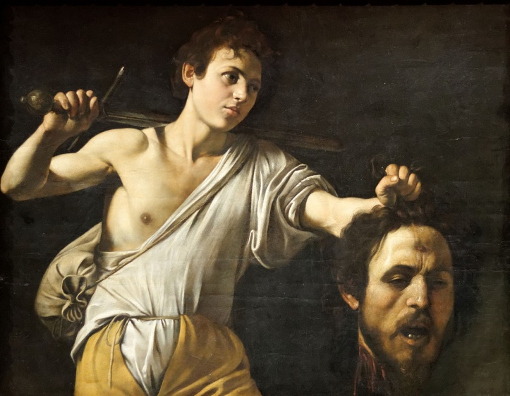 David with the Head of Goliath by Caravaggio, c.1607