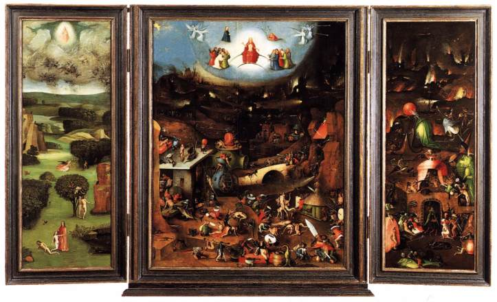 The Last Judgement by Hieronymous Bosch
