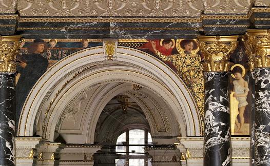 Italian Art (1891), Gustav Klimt. Kunsthistorisches Museum Wein
