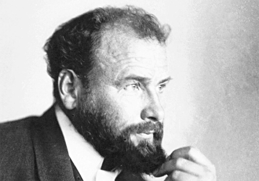 Portrait of Gustav Klimt