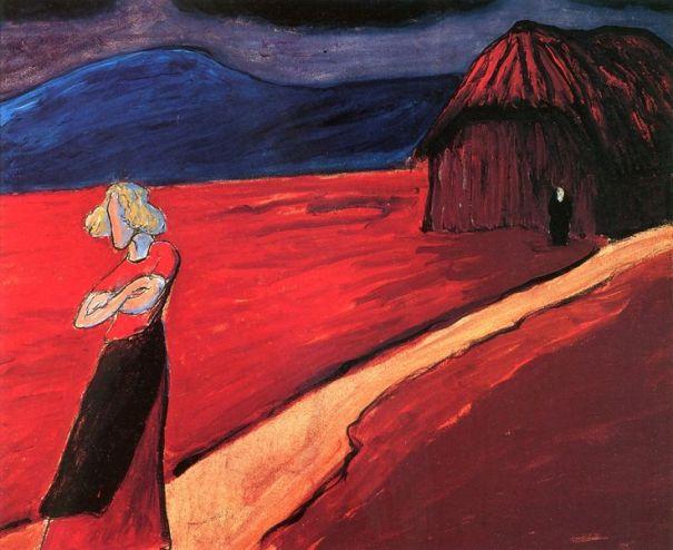 Tragic Mood by Marianne Werekfin, 1910