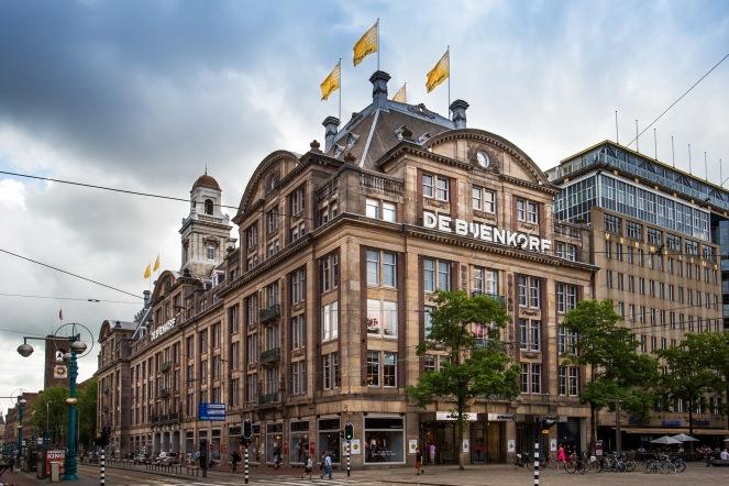 De Bijenkorf, Amsterdam, Photo by Diedrik Van Der Laan