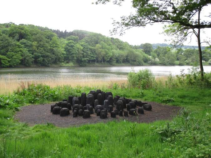 Black Mound. Yorkshire Sculpture Park. Photo by Tom Johnson