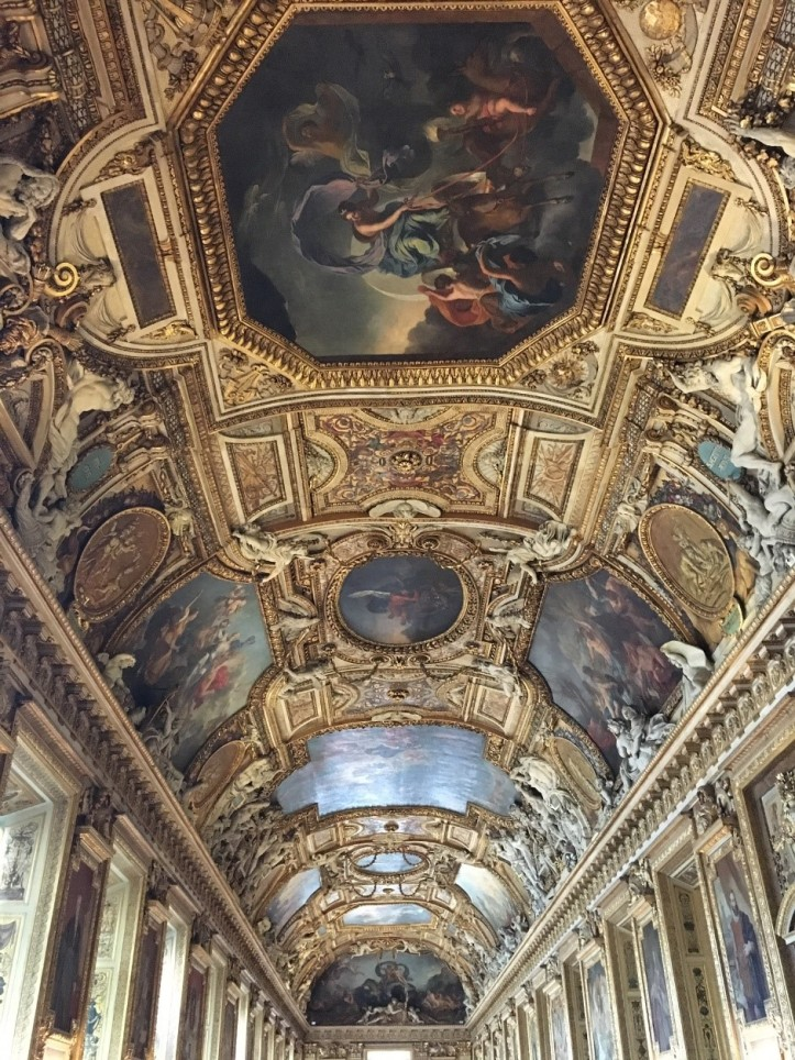 The Galerie d'Apollon, The Louvre