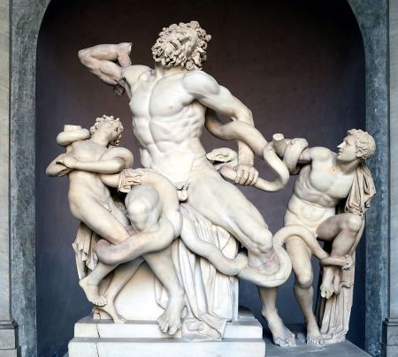 Laocoön and his Sons, the Vatican