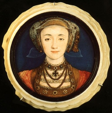 Miniature of Anne of Cleves