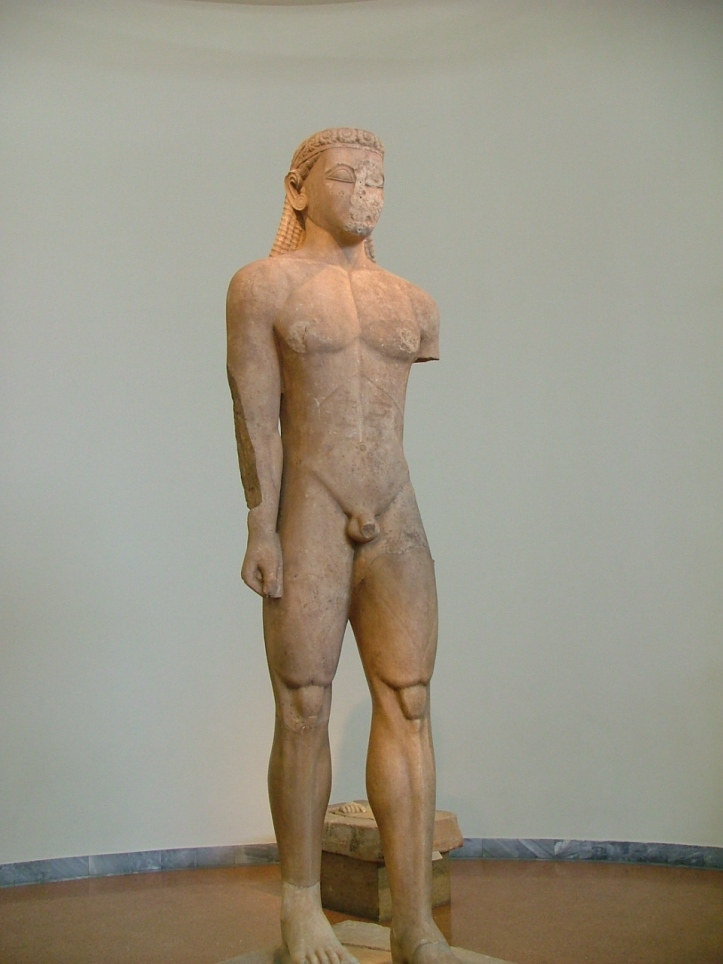 Sounion Kouros, National Archaeological Museum of Athens