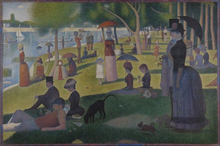 Sunday Afternoon on the Island of La Grande Jatte by George Seurat