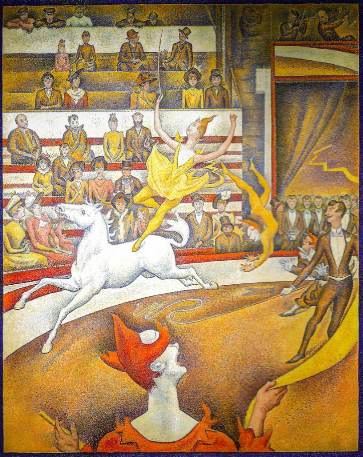 The Circus by George Seurat